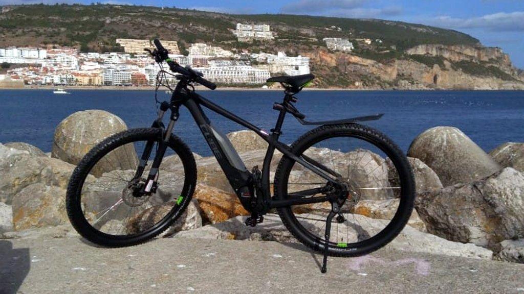 Passeio de Bicicleta Eléctrica na Arrábida - E-Bike