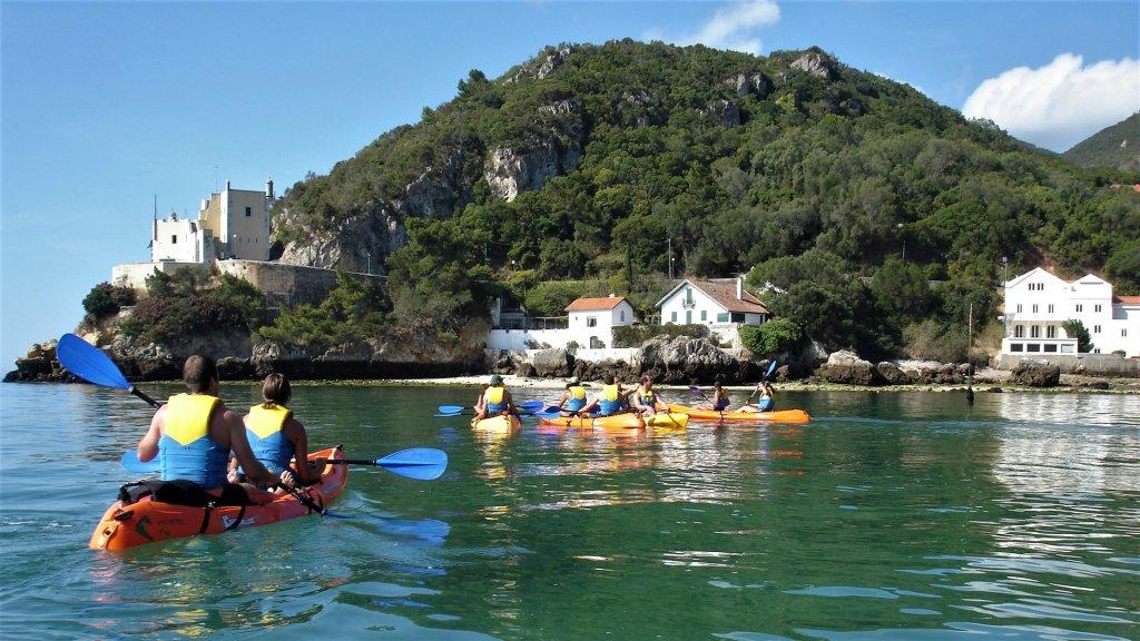 Passeio de kayak - Arrábida Mar
