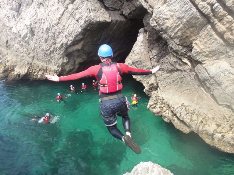 Coasteering - Destaque